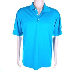 Nike Golf Men Polo Dri Fit Short Sleeves Size M